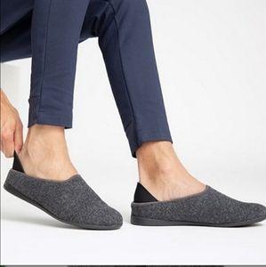 Mahabis Wool Slippers Gray
